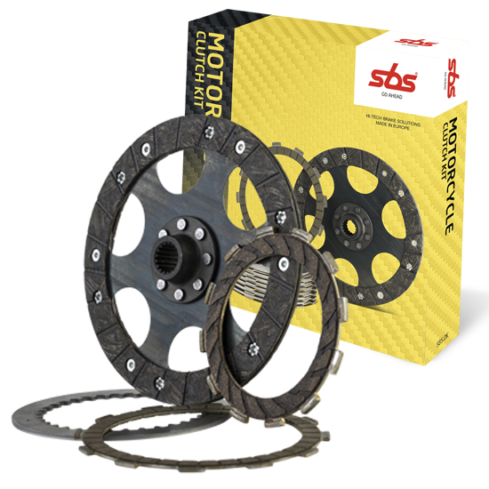 SBS brake pads - brake discs - clutch kits for MC