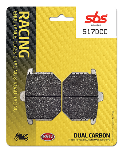 Racing brake pads - stopping power to two-wheeled bikes
