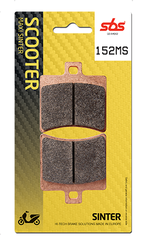Scooter brake pads - ideal brake performance