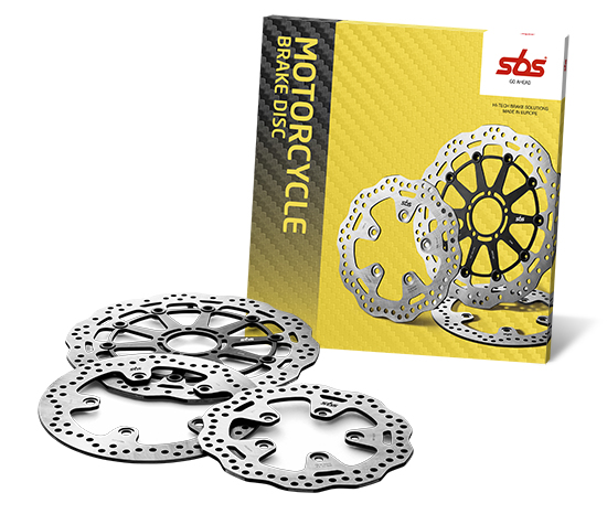 Motorcycle brake discs - KBA and ECE R90 approval