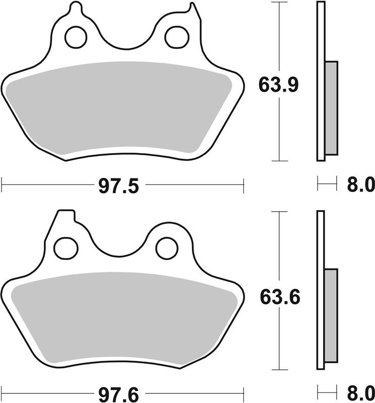 Gold Hose /& Stainless Black Banjos Pro Braking PBR2779-GLD-BLA Rear Braided Brake Line