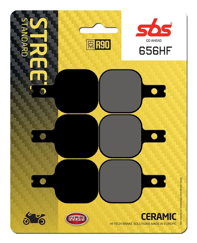 Harrison//Billet Calipers SBS Road Ceramic Brake Pads 656HF Mini 6