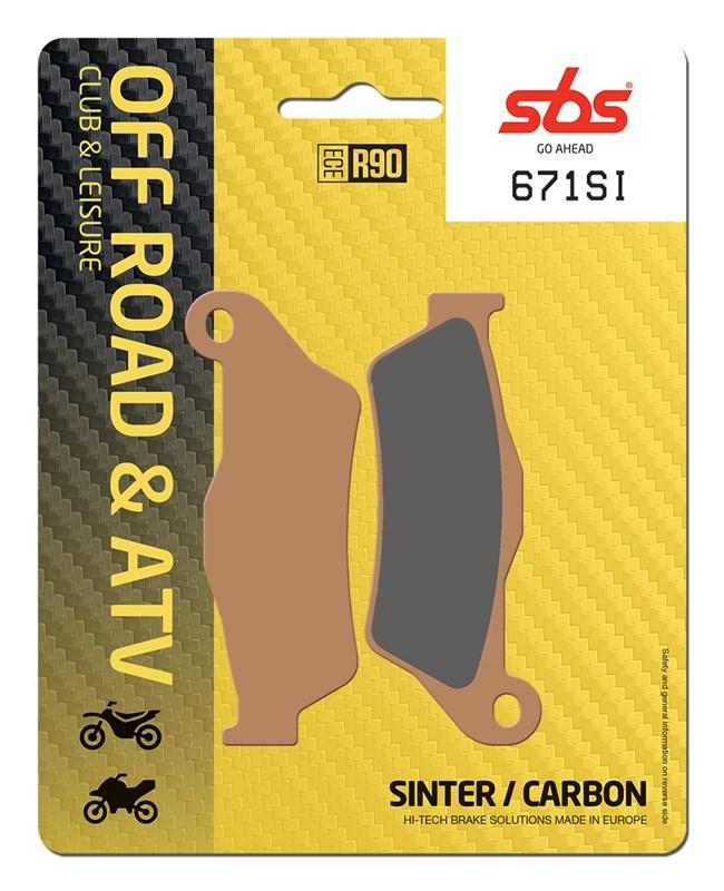 SBS 671SI Brake Pad