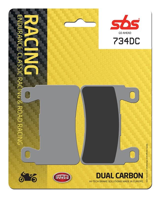 Honda Fireblade CBR929 929 2000 2001 SBS Race Sintered Front Brake Pads 734RS