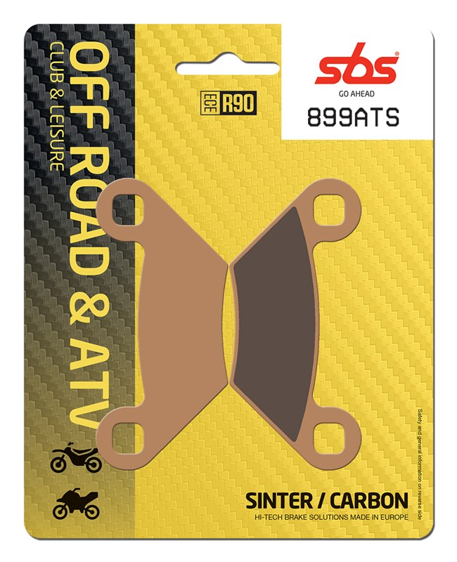 F+R Carbon Brake Pads 2013-2015 2014 Polaris Scrambler XP 850 HO//EPS